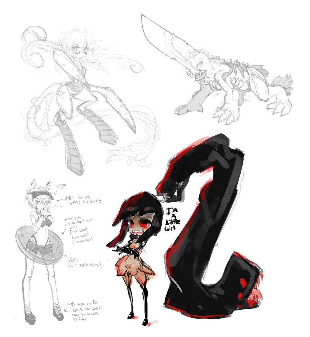 More doodles by Slugbox