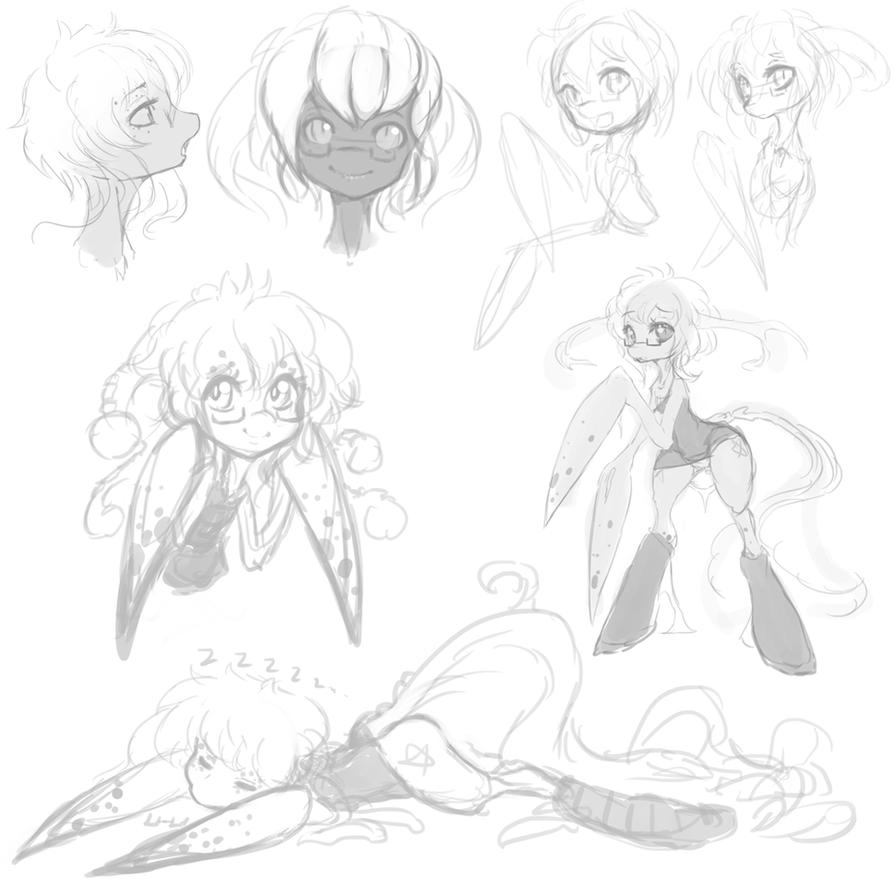 Doodles - Ctenos by Slugbox