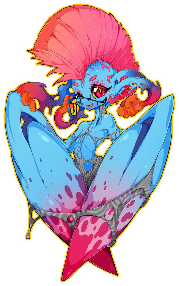 Mohawk Monster by Slugbox