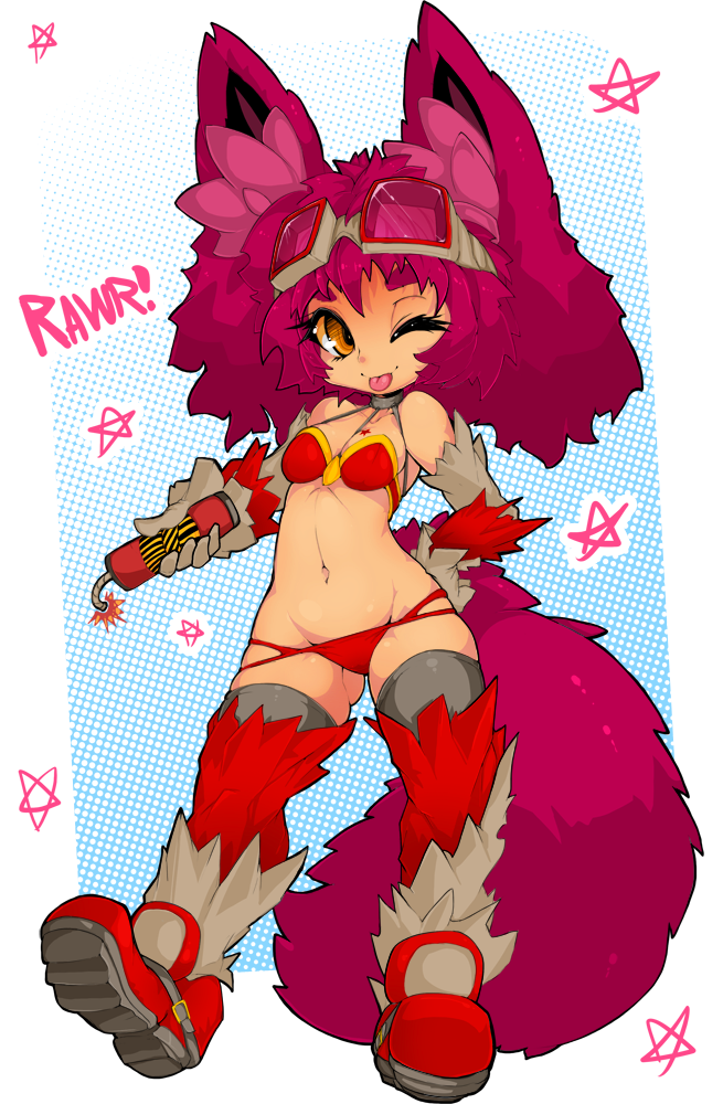 Rawr Tiny Nellko by Slugbox