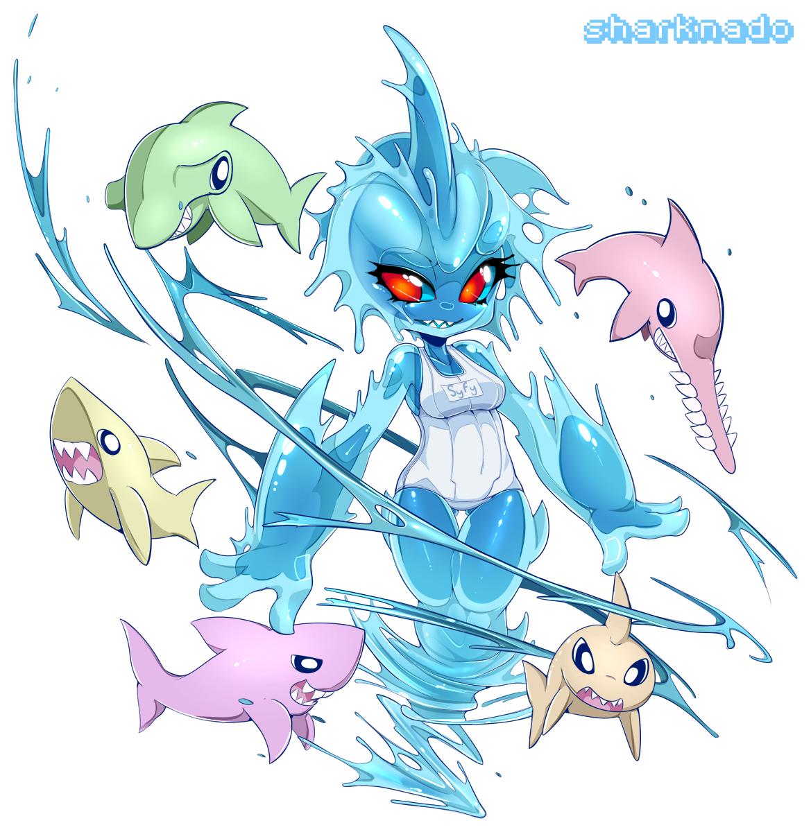 Syfy Sharks - Sharknado by Slugbox