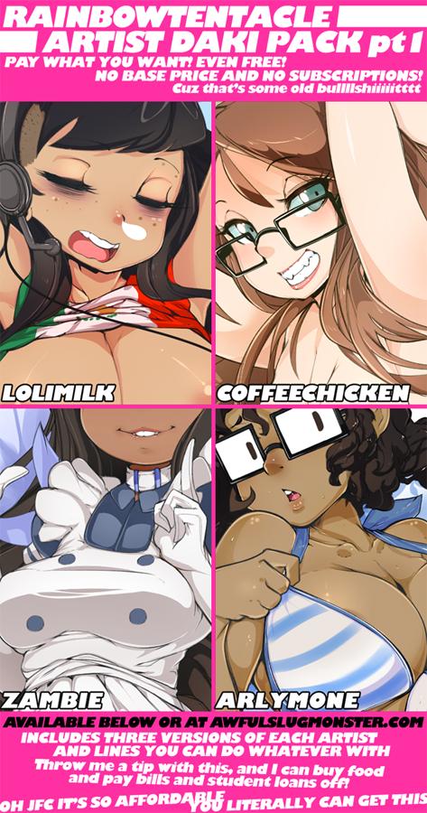 RT Dakimakura Artist Girls pt1 by Slugbox