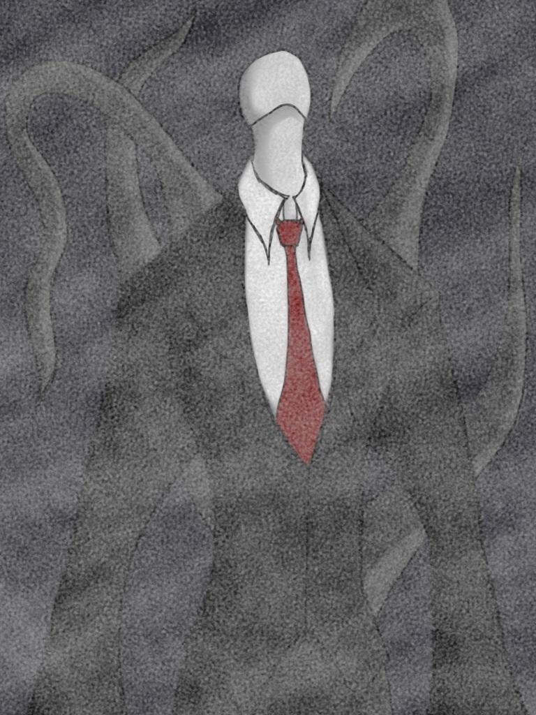 Slenderman is here... by TheBiomex