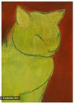 malowany kot 3 by Morlen