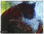 malowany kot 4 by Morlen