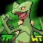 Sceptile TPWT Icon by DarkclawUmbreon