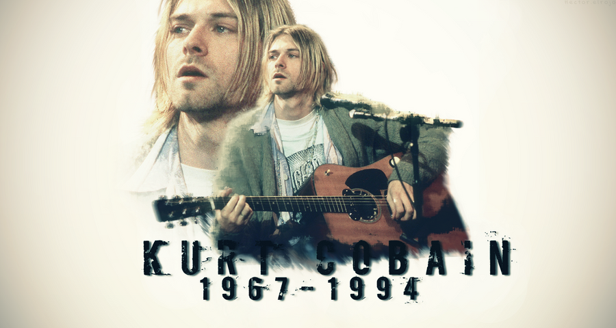 Kurt Cobain Wallpaper By Hector Elrojo