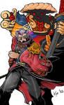 Auron and Yojimbo