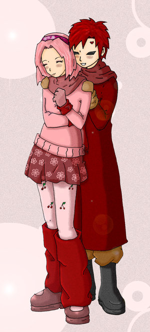 DeviantArt: More Like Sakura + Gaara by DesertReaper by ...