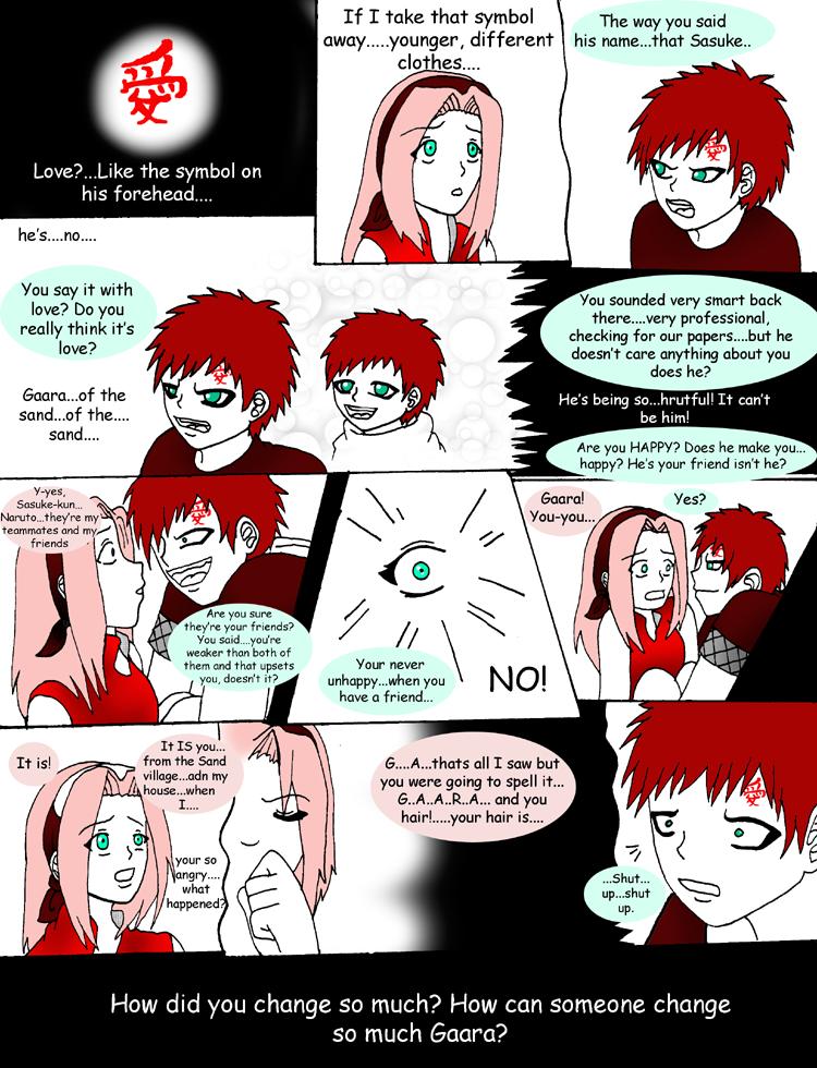Сакура и гаара-история их любви