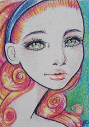 Prety girl by Dintykins