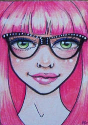 Four eyes by Dintykins