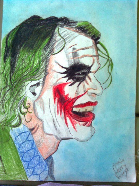 Guason Heath Ledger Dibujo By Jesusnorbertodibujos On Deviantart