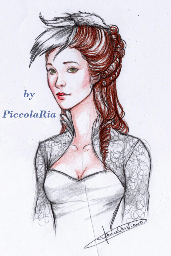 Elysia as a Bride by InkyRose
