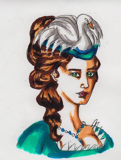 Alverdale Style- Elysia's Hat by InkyRose