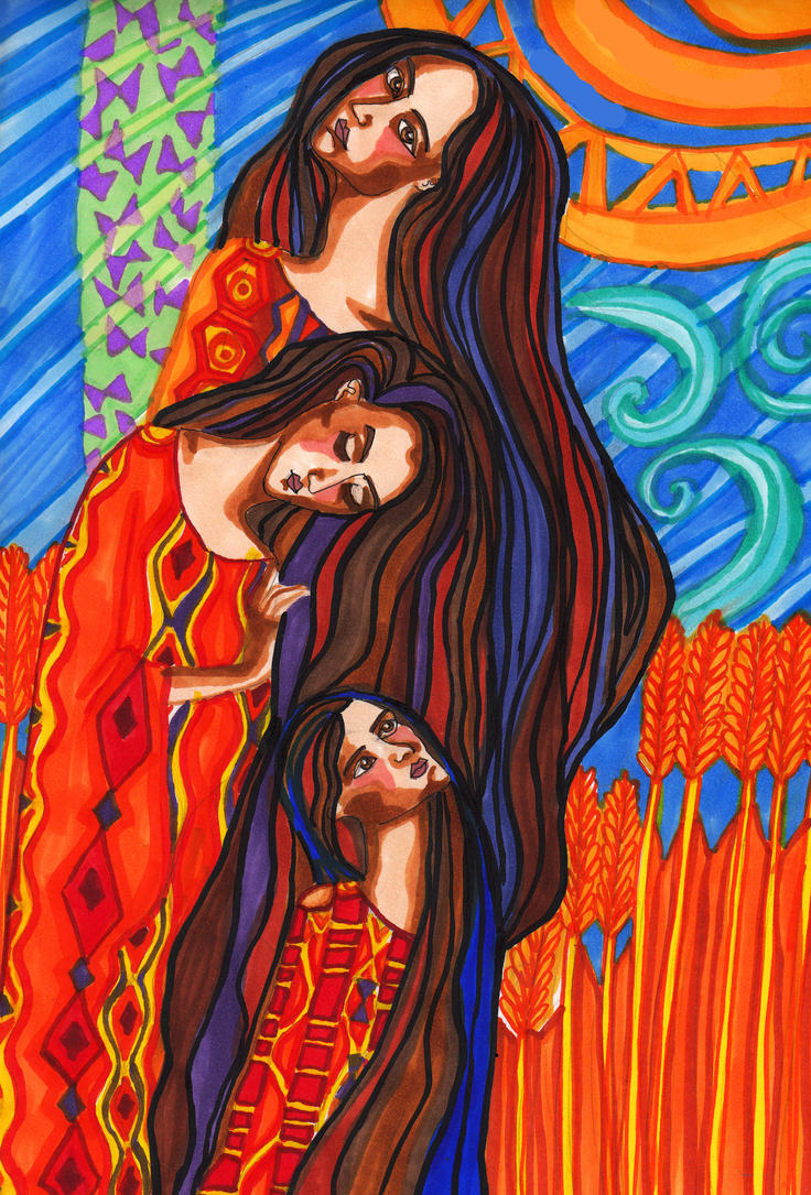 Three Sisters by InkyRose