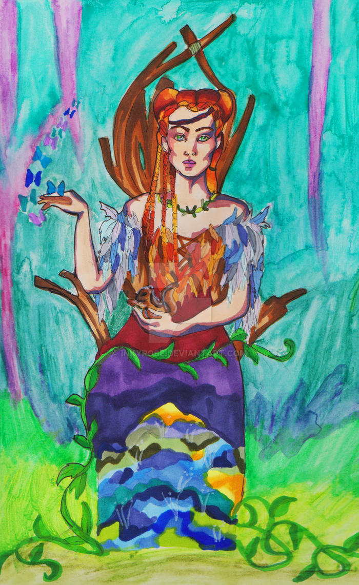 Anwen Ash-Leaf by InkyRose