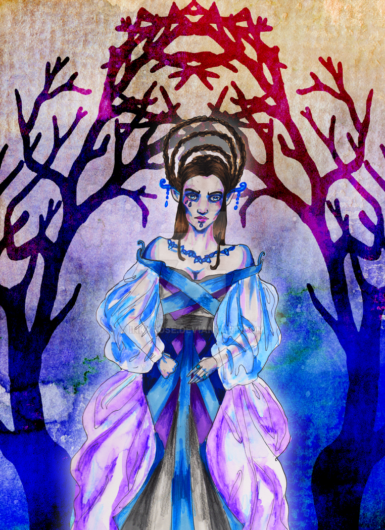 The Winter Queen by InkyRose