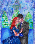 Slow dancing at the Yule ball by InkyRose