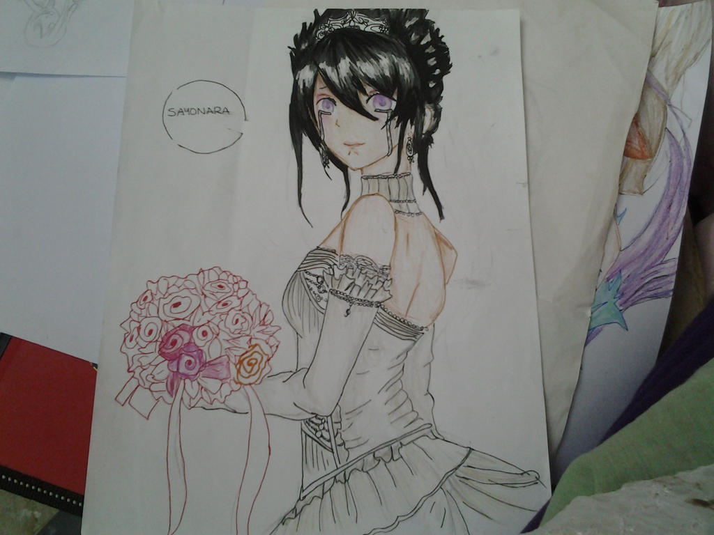 rose wedding by venus-chan2001