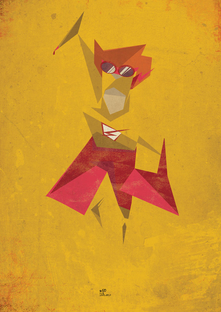 Kid Flash By ColourOnly85