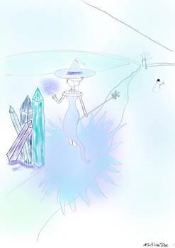 Inktober 04/10 : Colored Freeze