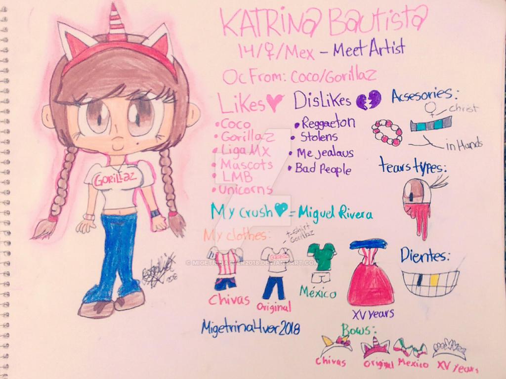 Meet Artist and Reference  katrina bautista by migetrina4ver2018