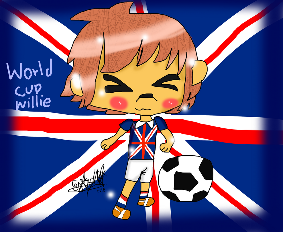 Wolrd cup Mascots- Willie by migetrina4ver2018