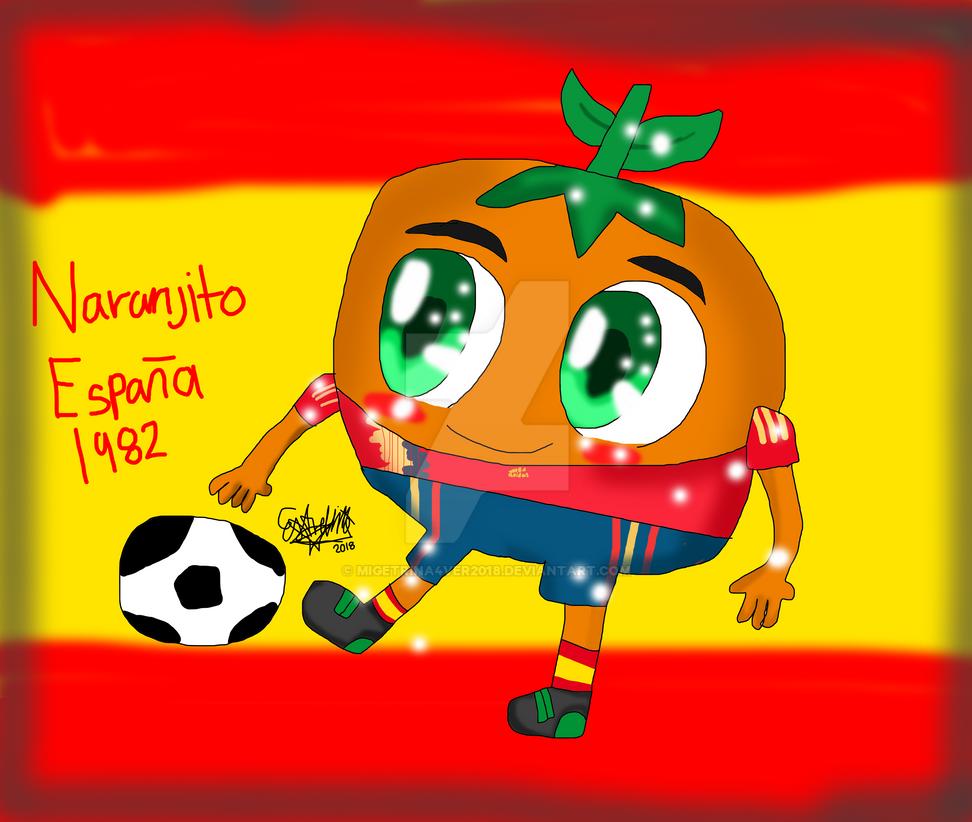 Wolrd cup mascots-naranjito by migetrina4ver2018