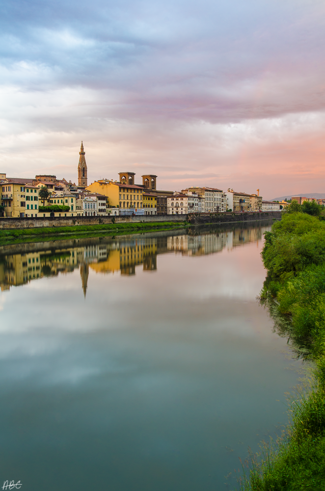 The River Arno by Tyrannax