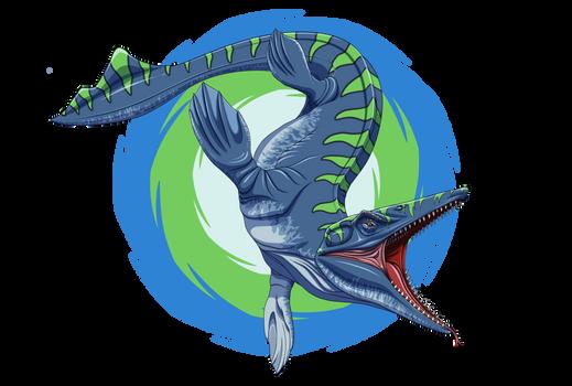 Toothy Tylosaurus