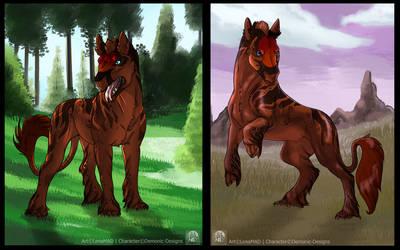 Demonic-Designs   ArtPayment by LenaMAD