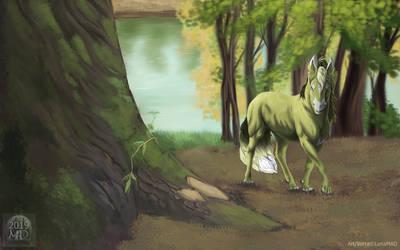 Wandering Among the Giants of Old by LenaMAD