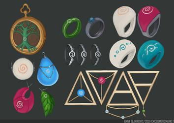 Jewelry Spreadsheet by nirunic
