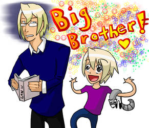 AA: BIIIG BROOOTHER by BloodScale