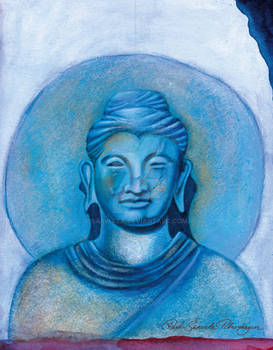 Bluegreen Buddha