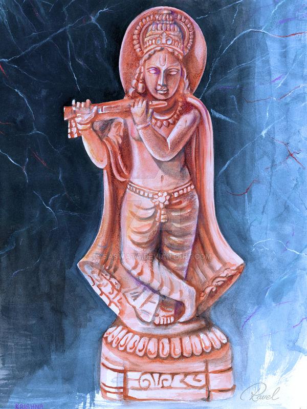 Terracotta-Krishna