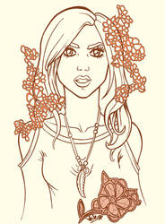 ...Aria Montgomery... by GloriaScott