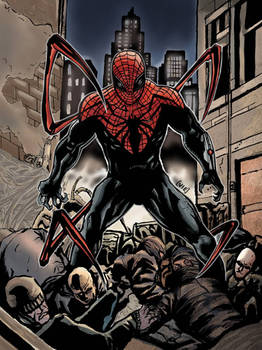 superior spiderman cover