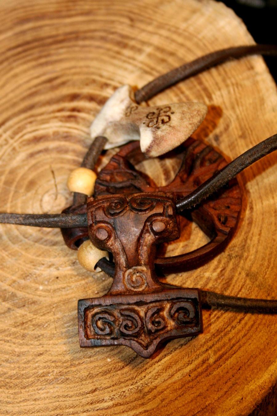 Mjolnir Pendant by Hluthvik