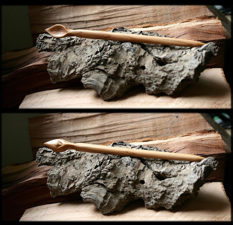 Syringa Hairpin by Hluthvik