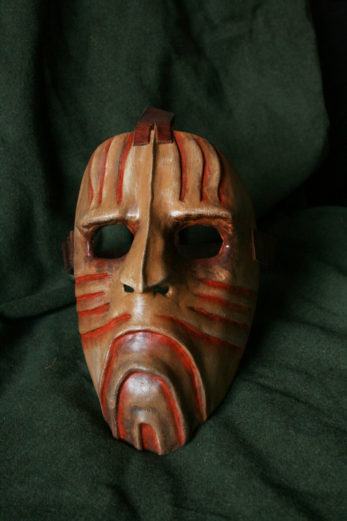 First Mask by Hluthvik