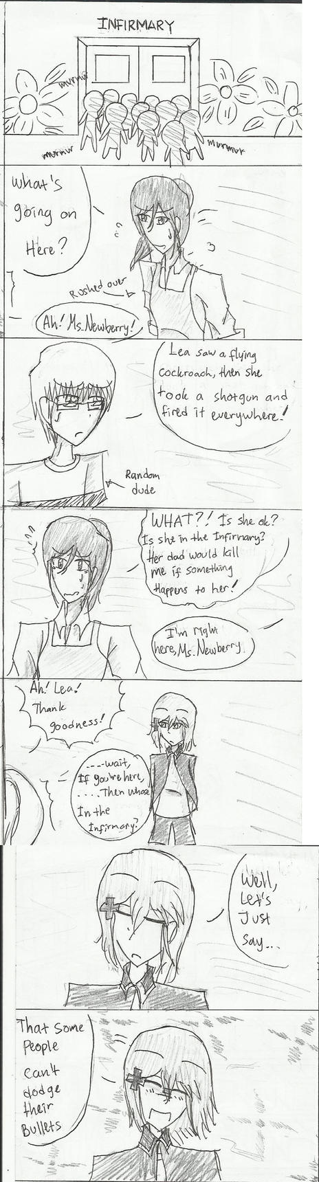 Lea's Kindergarten Diaries 1: Infirmary by roppiepop