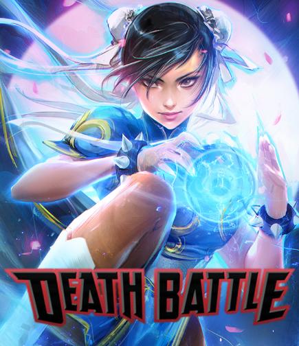 Chun-Li Shows Death Battle Her Kung-Fu! By