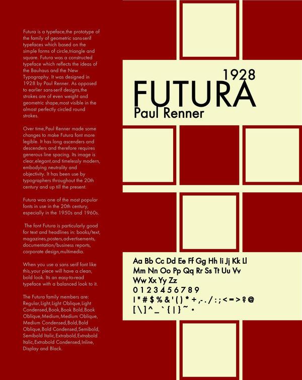 typography-Futura 1 by ToriSanjo on DeviantArt