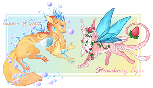 Summer Duo [Painted Relics Adopt Sale] /sold