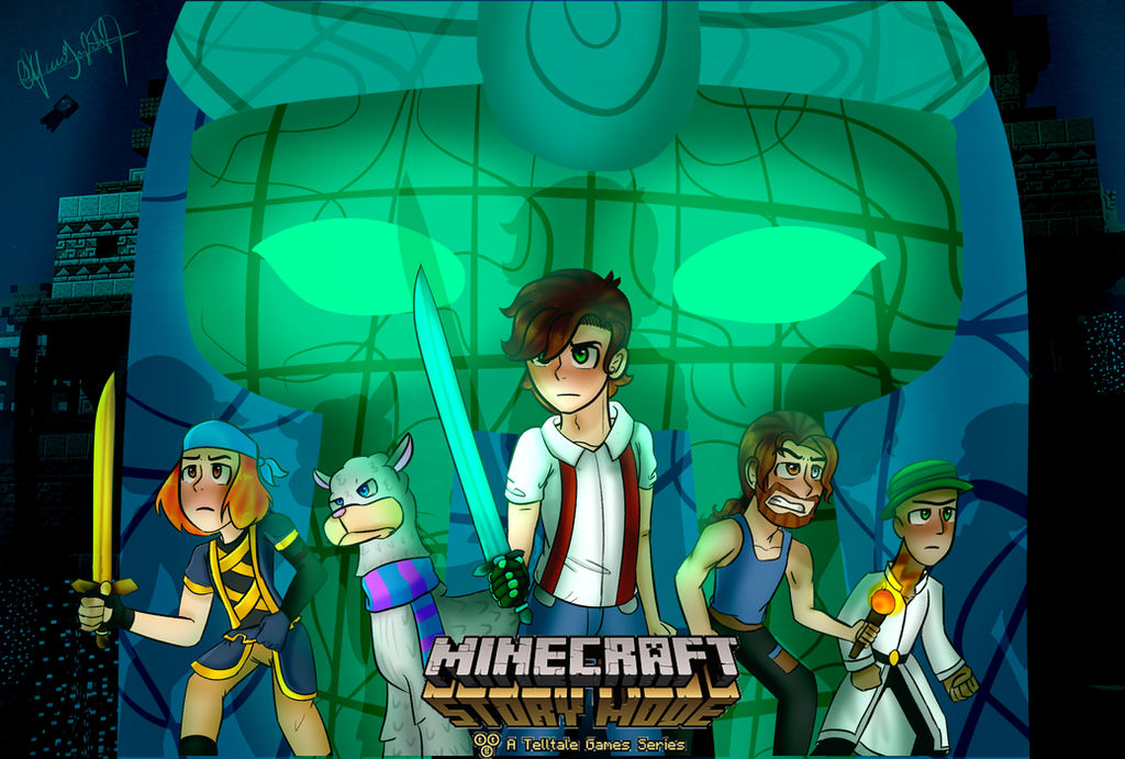 Minecraft Story Mode Season 2 By Michioreo123 On Deviantart