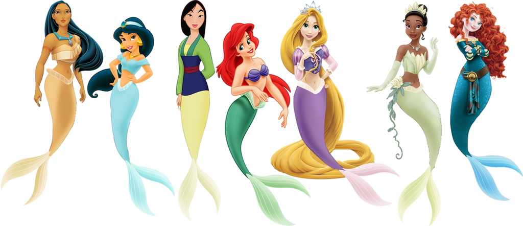 All Disney Princesses As Mermaids Pictures To Pin On Pictures Of Disney Princesses As Mermaids