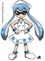 Ika Musume Splatoon Crossover by BananimationOfficial