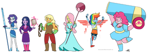 Pony Gems 2 - Weapons and Powers